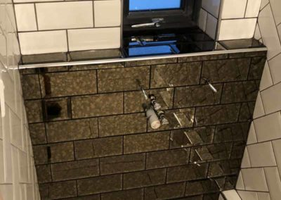 Bathroom tiles in Shower