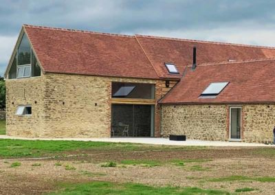 R and S Constructions created this barn conversion Oxfordshire